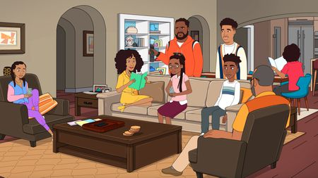 ZOEY (VOICED BY YARA SHAHIDI), RAINBOW (VOICED BY TRACEE ELLIS ROSS), DRE (VOICED BY ANTHONY ANDERSON), DIANE (VOICED BY MARSAI MARTIN), JACK (VOICED BY MILES BROWN), JUNIOR (VOICED BY MARCUS SCRIBNER)