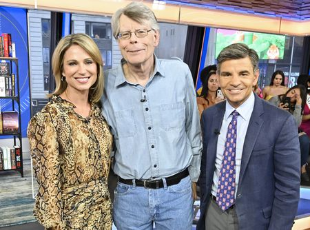 AMY ROBACH, STEPHEN KING, GEORGE STEPHANOPOULOS