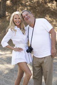 CHRISTIE BRINKLEY, JEFF GARLIN