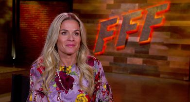 08. Cat Cora, Judge, On what she's looking for in the winner