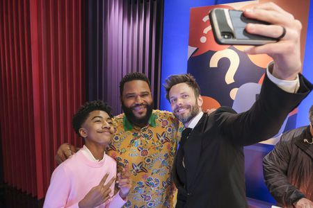 MILES BROWN, ANTHONY ANDERSON, JOEL MCHALE