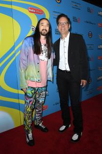 STEVE AOKI, PHIL GUERINI (VICE PRESIDENT, MUSIC STRATEGY, DISNEY CHANNELS WORLDWIDE AND GENERAL MANAGER, RADIO DISNEY NETWORKS)