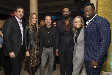 "DOUG ROBINSON (EXECUTIVE PRODUCER), DANA WALDEN (CHAIRMAN, DISNEY TELEVISION STUDIOS AND ABC ENTERTAINMENT), HANK STEINBERG (EXECUTIVE PRODUCER), NICHOLAS PINNOCK, KAREY BURKE (PRESIDENT, ABC ENTERTAINMENT), CURTIS ""50 CENT"" JACKSON (EXECUTIVE PRODUCER),"