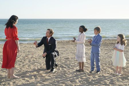 CHRIS CARMACK, ANIELA GUMBS, BRODY GOODSTADT AND RYDER GOODSTADT, AVALON GRAY AND COLETTE GRAY