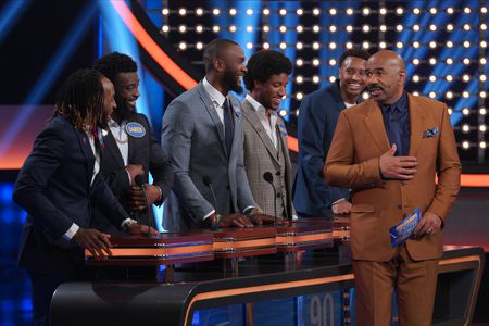 AARON JONES, DAMIEN WILLIAMS, DARIUS LEONARD, MARLON HUMPHREY, COURTLAND SUTTON, STEVE HARVEY