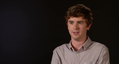 """03. Freddie Highmore, """"Dr. Shaun Murphy,"""" On how autism is represented in the show"""