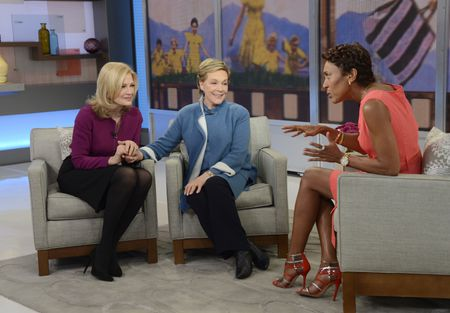 DIANE SAWYER, JULIE ANDREWS, ROBIN ROBERTS