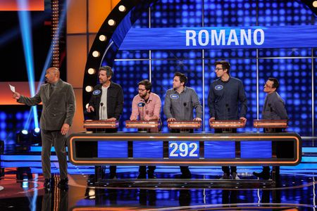 STEVE HARVEY, RAY ROMANO, GREG ROMANO, MATT ROMANO, JOE ROMANO, ROBERT ROMANO