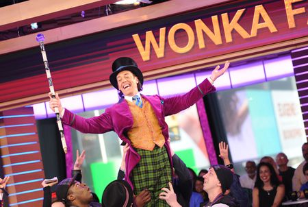 BROADWAY'S CHARLIE AND THE CHOCOLATE FACTORY