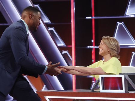 MICHAEL STRAHAN, KATIE COURIC