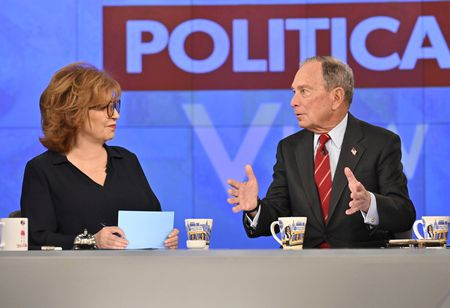 JOY BEHAR, MICHAEL BLOOMBERG