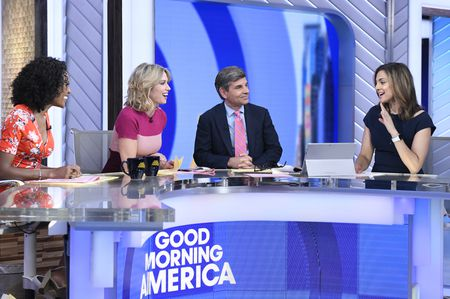 JANAI NORMAN, AMY ROBACH, GEORGE STEPHANOPOULOS, PAULA FARIS