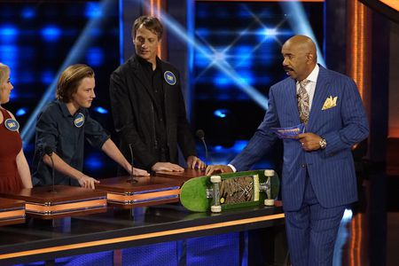 EMILY ALICE DEREMO, KEEGAN HAWK, TONY HAWK, STEVE HARVEY