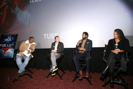 JA'MAL GREEN (MODERATOR), HANK STEINBERG (EXECUTIVE PRODUCER), NICHOLAS PINNOCK, JOY BRYANT