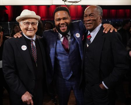 NORMAN LEAR, ANTHONY ANDERSON, JOHN AMOS
