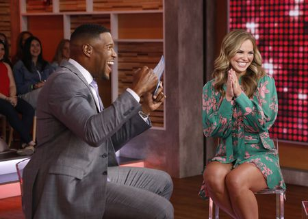MICHAEL STRAHAN, HANNAH BROWN