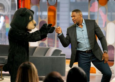 DANCING BEAR, MICHAEL STRAHAN