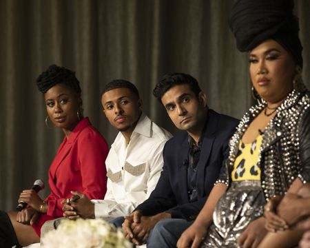 ZURI ADELE, DIGGY SIMMONS, DHRUV UDAY SINGH, PATRICK STARRR