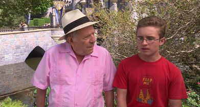 """05.George Segal, """"Pops Solomon"""", Sean Giambrone, """"Adam Goldberg"""", On paying homage to """"National Lampoon's Vacation"""""""