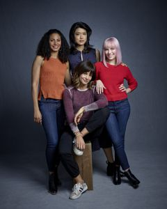 CHRISTINA MOSES, STEPHANIE SZOSTAK, GRACE PARK, ALLISON MILLER