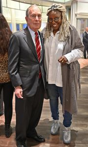 MICHAEL BLOOMBERG, WHOOPI GOLDBERG