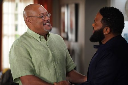 LAURENCE FISHBURNE, ANTHONY ANDERSON
