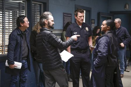 MICHAEL GOI (DIRECTOR), NATHAN FILLION, MEKIA COX