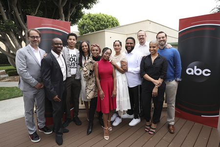 JONATHAN GROFF, KENNY SMITH, MARCUS SCRIBNER, MICHELLE COLE, JENIFER LEWIS, MARSAI MARTIN, TRACEE ELLIS ROSS, ANTHONY ANDERSON, PETER MACKENZIE, JEFF MEACHAM, DANA BLAIR