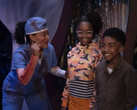 TRACEE ELLIS ROSS, MARSAI MARTIN, MILES BROWN