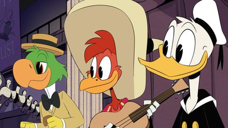 JOSE, PANCHITO, DONALD