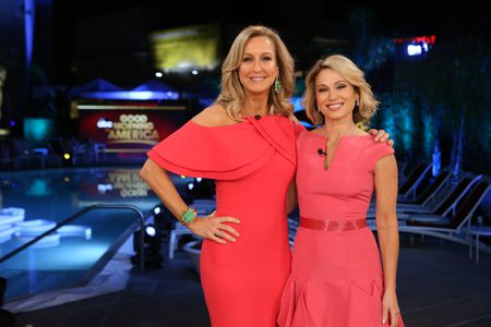 LARA SPENCER, AMY ROBACH