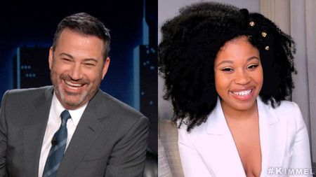 JIMMY KIMMEL, DOMINIQUE FISHBACK