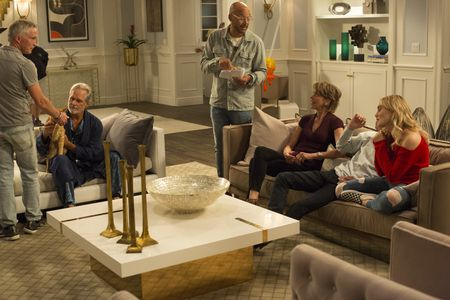 GREGORY HARRISON, KEN WHITTINGHAM (DIRECTOR), WENDIE  MALICK, DANIEL DIMAGGIO, MEG DONNELLY