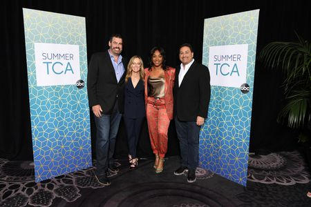 JACK MARTIN (EXECUTIVE PRODUCER), KAREY BURKE (PRESIDENT, ABC ENTERTAINMENT), TIFFANY HADDISH (HOST/EXECUTIVE PRODUCER), ERIC SCHOTZ (EXECUTIVE PRODUCER)
