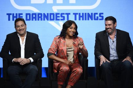 ERIC SCHOTZ (EXECUTIVE PRODUCER), TIFFANY HADDISH (HOST/EXECUTIVE PRODUCER), JACK MARTIN (EXECUTIVE PRODUCER)