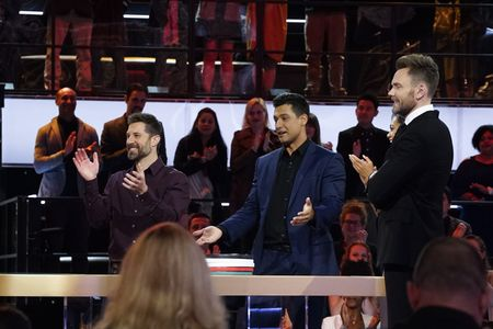 MIKE MADOR, JERRY WOLF, JOEL MCHALE