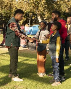 MARCUS SCRIBNER, MARSAI MARTIN, MILES BROWN, ANTHONY ANDERSON