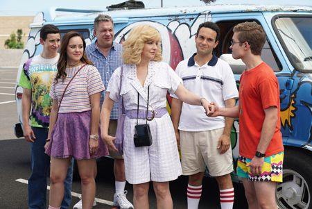 SAM LERNER, HAYLEY ORRANTIA, JEFF GARLIN, WENDI MCLENDON-COVEY, TROY GENTILE, SEAN GIAMBRONE