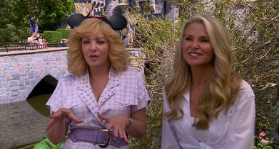 "03.	Wendi McLendon-Covey, ""Beverly Goldberg"", Christie Brinkley ""The Girl in the Ferrari"", On visiting Disneyland"