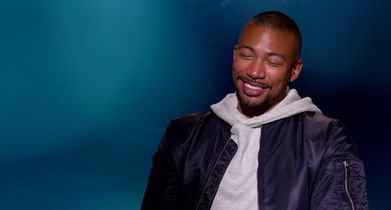 "05. Charles Michael Davis, ""Ted"", On working with Jasmin Savoy Brown"