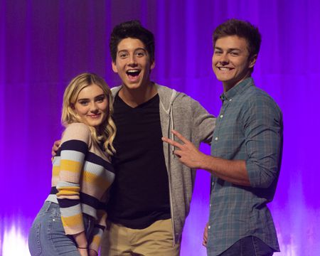 MEG DONNELLY, MILO MANHEIM, PEYTON MEYER