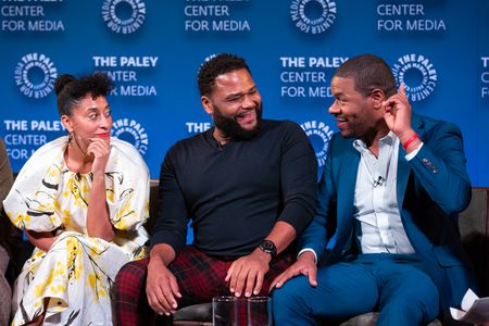 TRACEE ELLIS ROSS, ANTHONY ANDERSON, EXECUTIVE PRODUCER COURTNEY LILLY