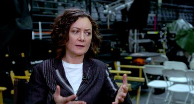 "02. Sara Gilbert, ""Darlene Conner"" On connecting with audiences"