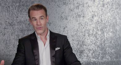 53. James Van Der Beek, Celebrity, On performing live