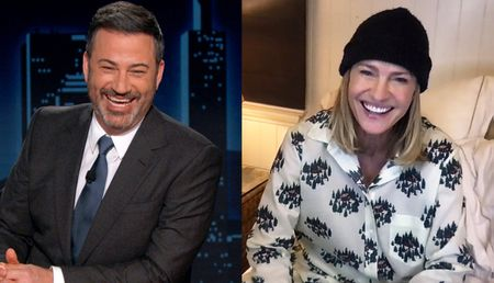 JIMMY KIMMEL, ROBIN WRIGHT