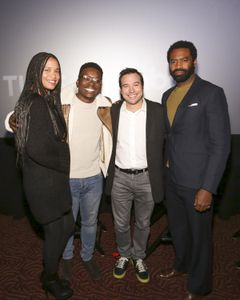 JOY BRYANT, JA'MAL GREEN (MODERATOR), HANK STEINBERG (EXECUTIVE PRODUCER), NICHOLAS PINNOCK
