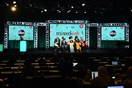 FRONT ROW: MYKAL-MICHELLE HARRIS, MARK-PAUL GOSSELAAR, ARICA HIMMEL, TIKA SUMPTER, ETHAN WILLIAM CHILDRESS