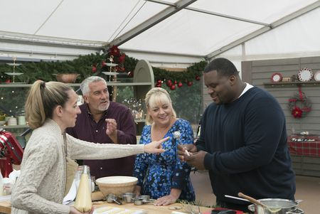 "ANDREA, PAUL HOLLYWOOD, SHERRY YARD, ANTHONY ""SPICE"" ADAMS"