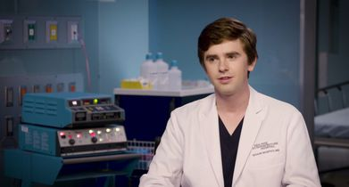 "03. Freddie Highmore, ""Dr. Shaun Murphy"", On his character's career milestone moment"