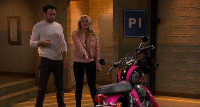01. Gabi shows Josh her new motorcycle